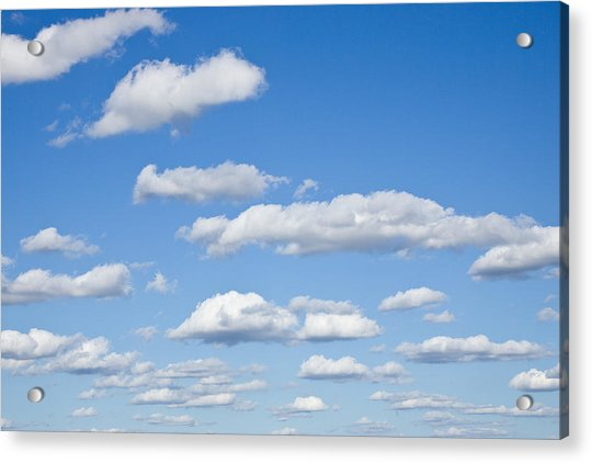 Sky Of Clouds Acrylic Print