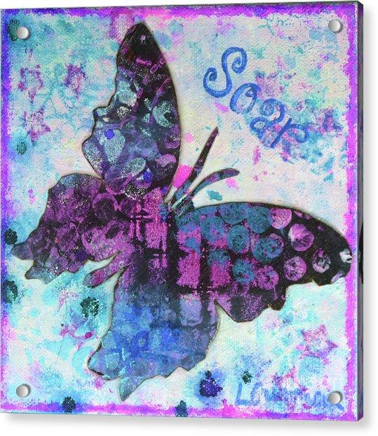 Soar Butterfly Acrylic Print