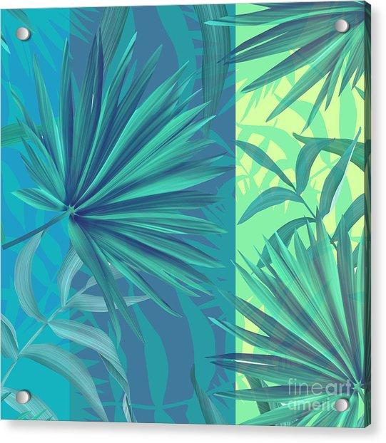 Soft Tropic  Acrylic Print