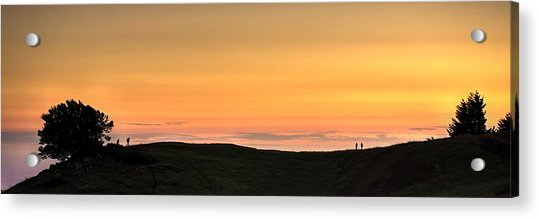 Sometimes The Unexpected Hits You Acrylic Print