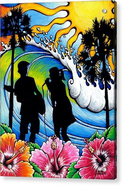 Sound Waves Acrylic Print