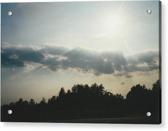 South Carolina Sunrise Acrylic Print by Gene Linder