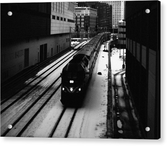 South Loop Railroad Acrylic Print