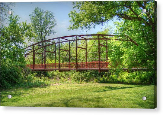 Spanning Time Acrylic Print