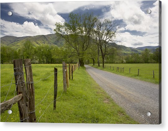 Sparks Lane In Cade Cove Acrylic Print