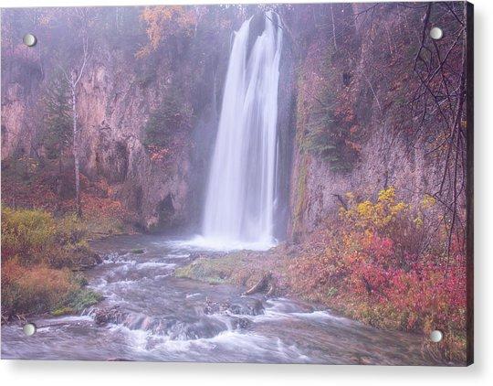Spearfish Falls Acrylic Print