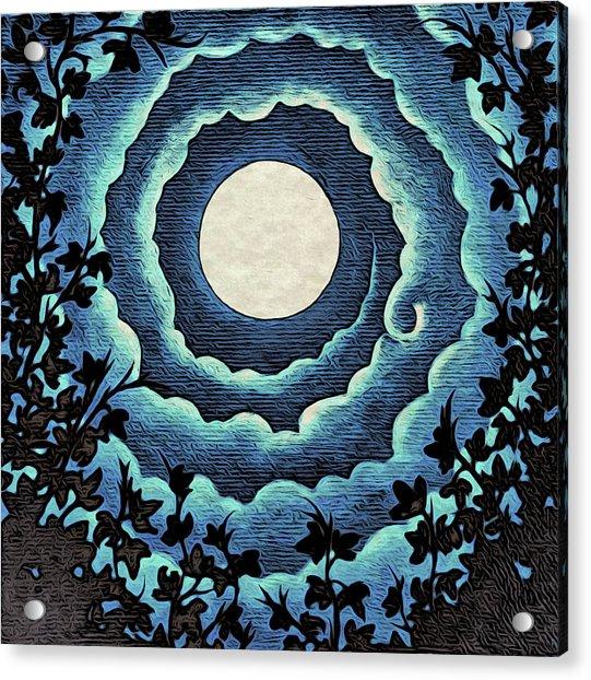 Spiral Clouds Acrylic Print