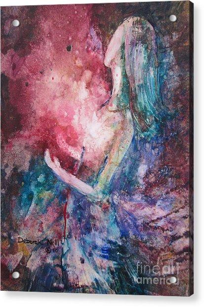 Spirit Of The Living God Acrylic Print