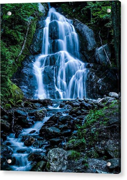 Spring At Moss Glen Falls Acrylic Print