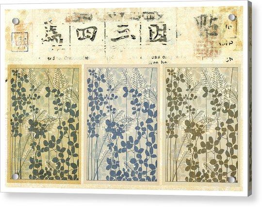 Spring Botanical Design Acrylic Print