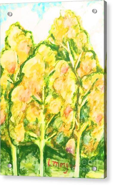 Spring Fantasy Foliage Acrylic Print