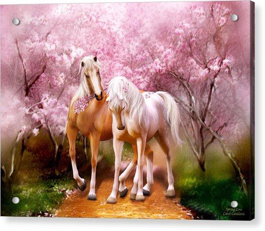 Spring Love Acrylic Print