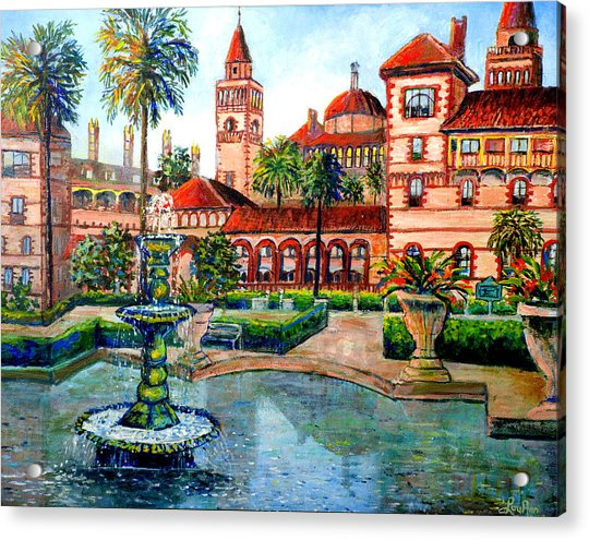 St Augustine Florida Acrylic Print