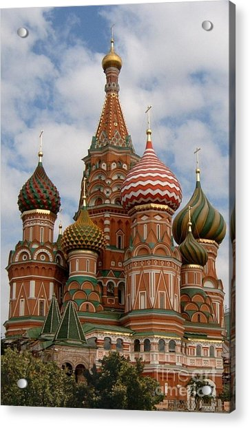 St. Basil's Cathedral Acrylic Print