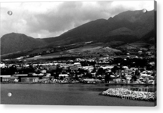St. Kitts Beautiful Caribbean Island  Acrylic Print