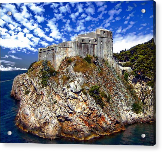 St. Lawrence Fortress Acrylic Print