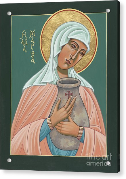 St Martha Of Bethany  Acrylic Print