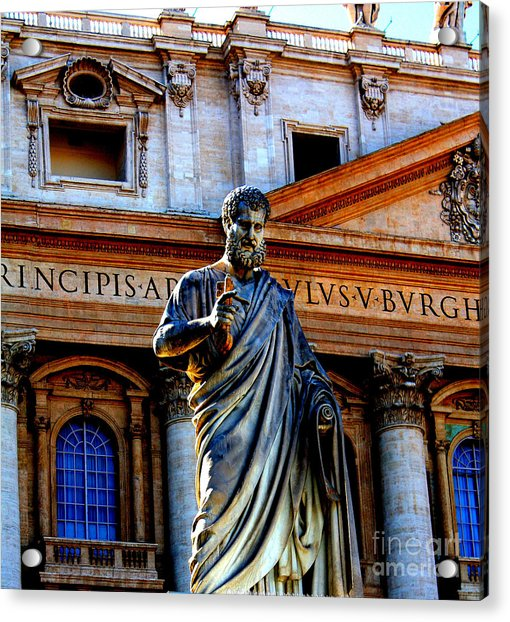 St Peter At The Vatican Acrylic Print