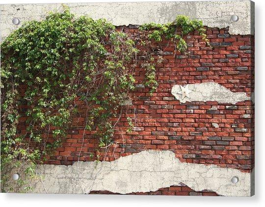 Star Bricks Acrylic Print