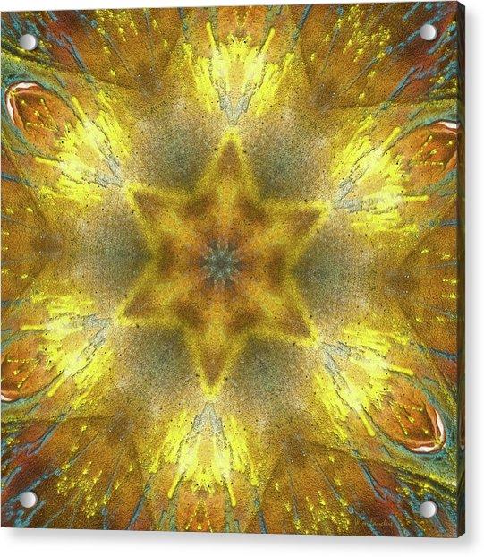 Star Kaleidoscope Acrylic Print