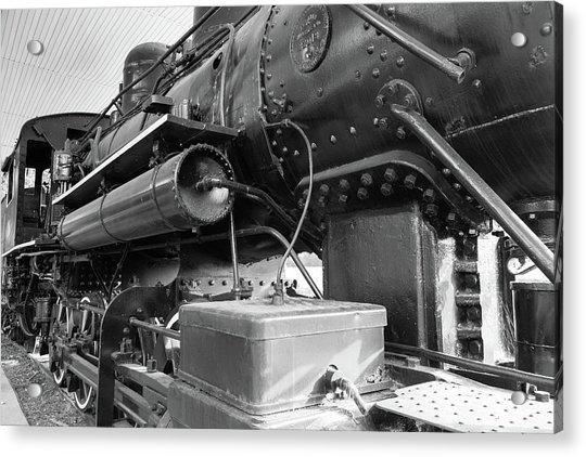 Steam Locomotive Side View Acrylic Print