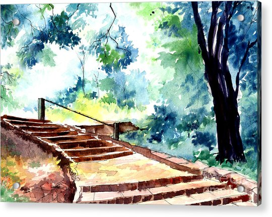 Steps To Eternity Acrylic Print