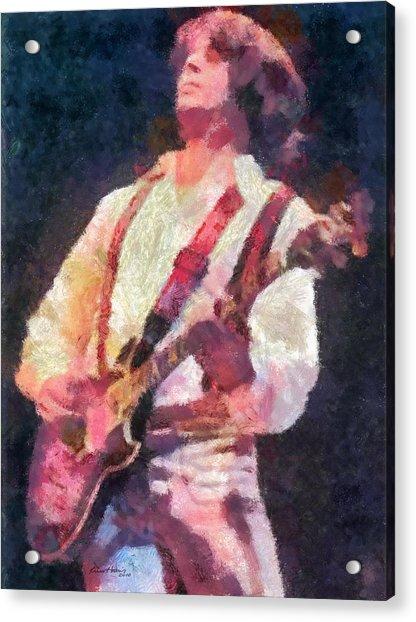 Steve Miller 1978 Acrylic Print
