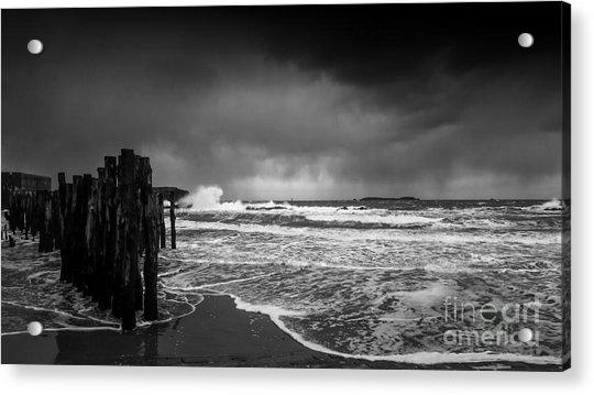 Storm In Saint-malo Acrylic Print