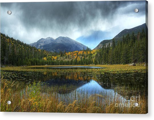 Storm Over Cub Lake Acrylic Print