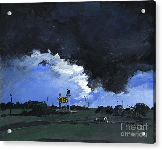 Storm's A Comin' Acrylic Print