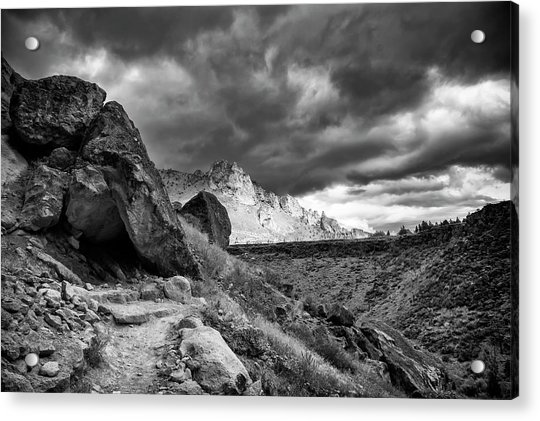 Stormy Misery Ridge  Acrylic Print