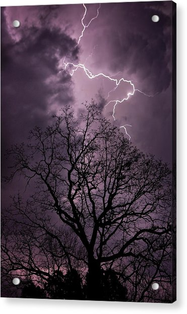 Stormy Night Acrylic Print