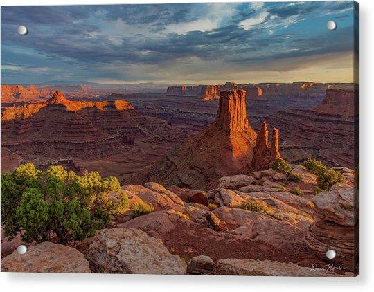 Stormy Sunset - Marlboro Point Acrylic Print