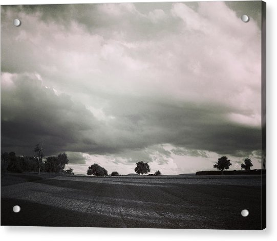 Stormy Times Acrylic Print