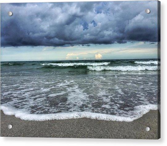 Stormy Waves Acrylic Print