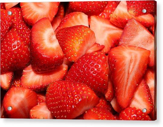 Strawberries 32 Acrylic Print