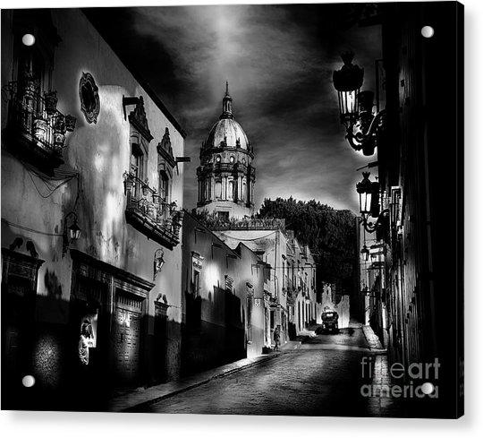 Street To The Nun's Church Acrylic Print