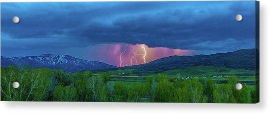 Storm Peak  Acrylic Print