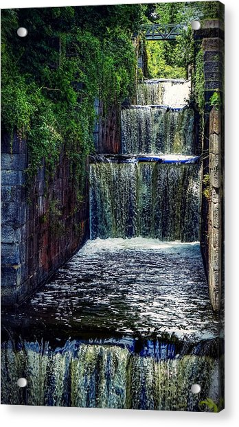 Summer At The Five Combines Acrylic Print