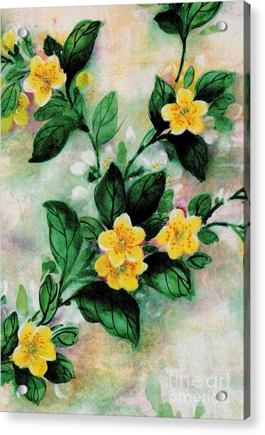 Summer Blooms Acrylic Print