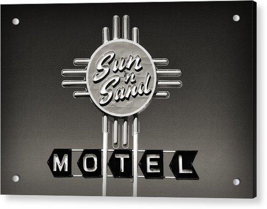Sun N Sand Acrylic Print
