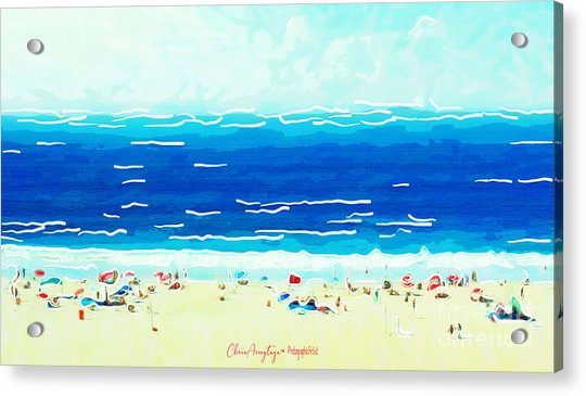 Sunday At Bondi Acrylic Print