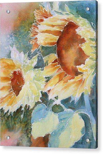 Sunflower Love Acrylic Print