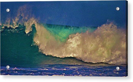 Sunlight On Breaking Wave Acrylic Print
