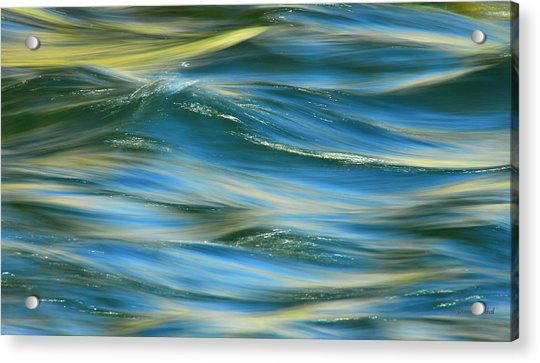 Sunlight Over The River Acrylic Print
