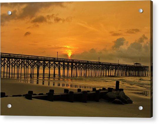 Sunrise At Pawleys Island Acrylic Print