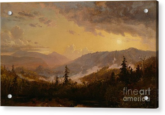 Sunset After A Storm In The Catskill Mountains Acrylic Print