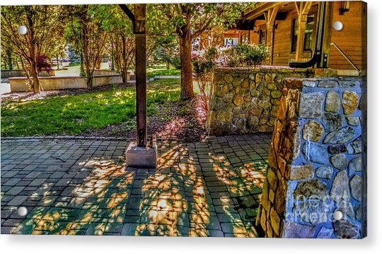 Sunset At Community Park In Montville, New Jersey Acrylic Print