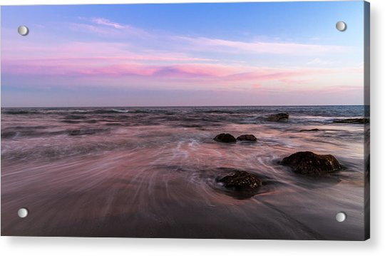 Sunset At The Atlantic Acrylic Print