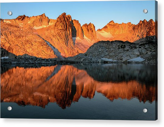 Sunset In The Higher Enchantment Acrylic Print